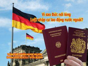 Đức nới lỏng luật đinh cư cho người nước ngoài