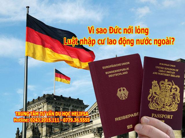 CHLB Đức nới lỏng Luật nhập cư lao động đầu tiên trong lịch sử