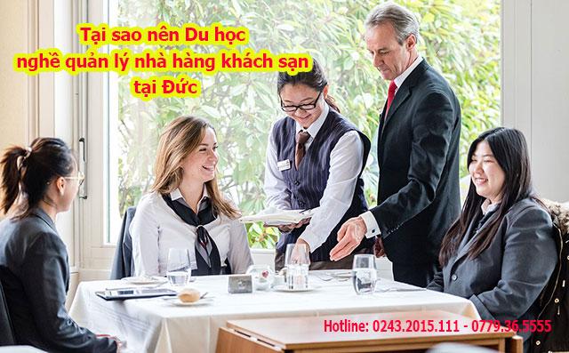 Tại sao nên Du học nghề quản lý khách sạn nhà hàng tại Đức?