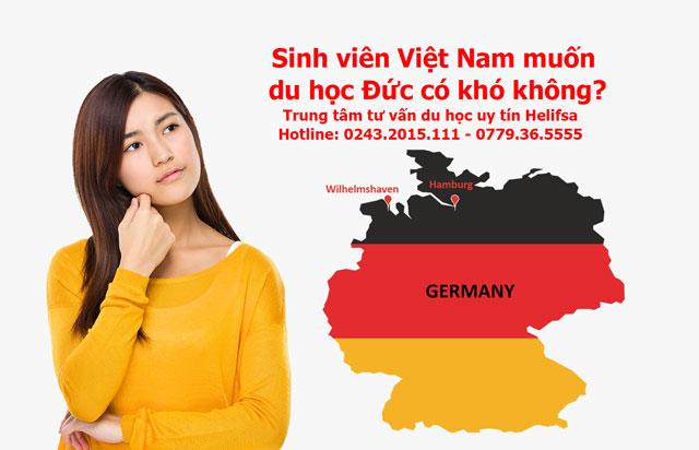 Sinh viên Việt Nam muốn du học Đức có khó không?