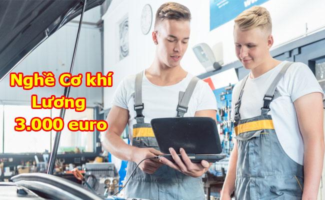 Du học nghề cơ khí tại Đức – Lương 80 triệu/tháng
