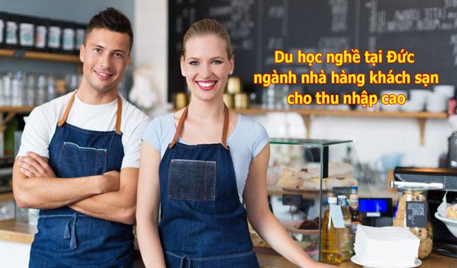 Du học ngành nhà hàng khách sạn tại Đức sẽ giúp bạn cơ hội có thu nhập cao