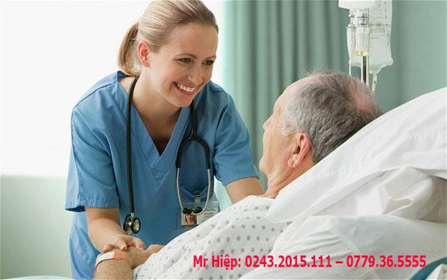 Nghề điều dưỡng tại Đức có thu nhập khá cao