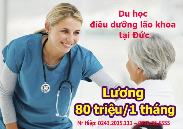 Du học nghề điều dưỡng lão khoa tại Đức với thu nhập 80 triệu/tháng