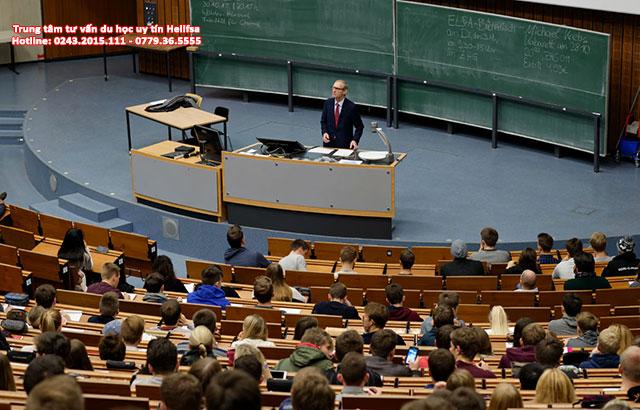 Nước Đức luôn là điểm đến du học của nhiều sinh viên quốc tế