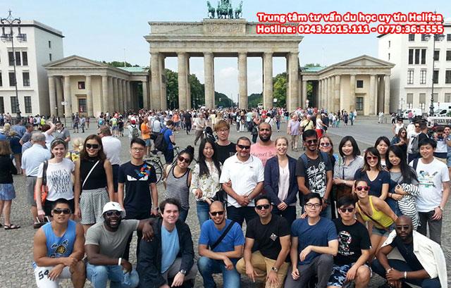 Nhiều sinh viên quốc tế chọn Đức để du học