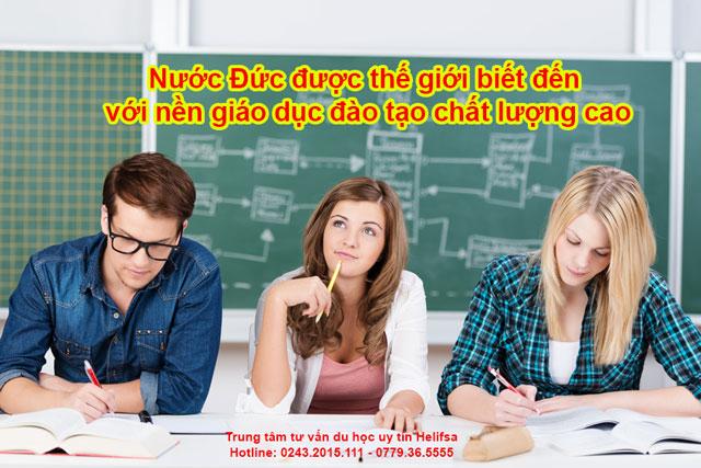Nước Đức được thế giới biết đến với nền giáo dục đào tạo chất lượng cao