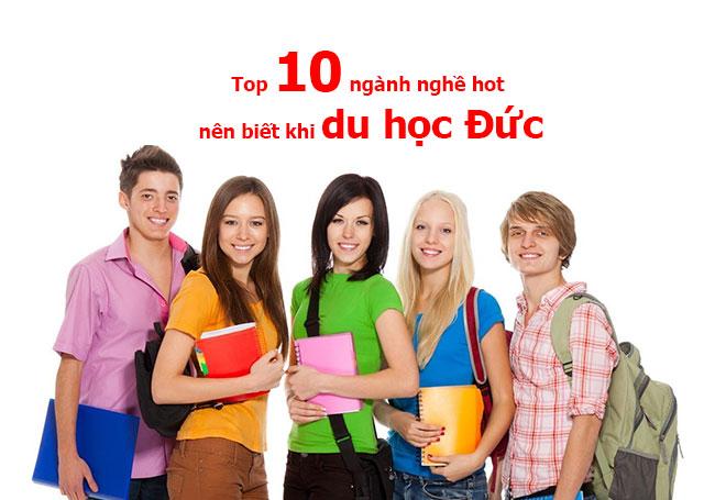 Top 10 ngành nghề hot nên biết khi du học Đức