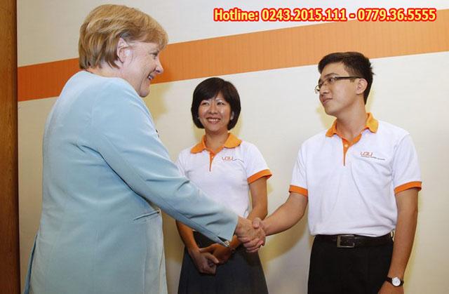 Nước Đức rất coi trọng và đầu tư cho sinh viên du học nghề