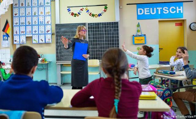 Một lớp học bậc Tiểu học tại Đức