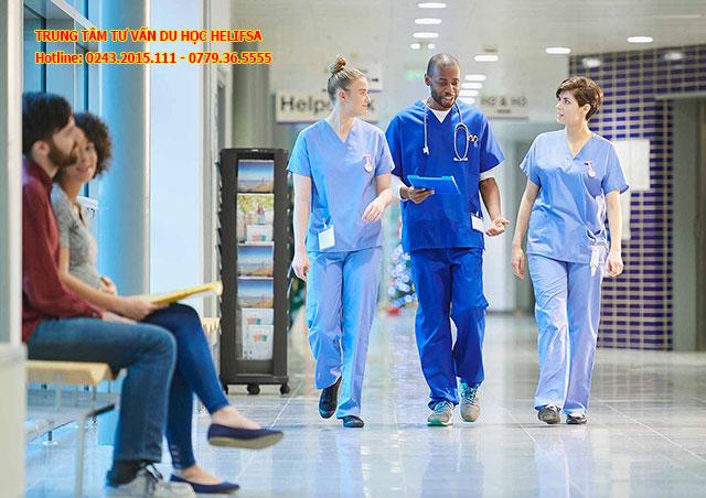 Thời gian du học nghề y tá, điều dưỡng tại Đức thường từ 2 đến 3 năm