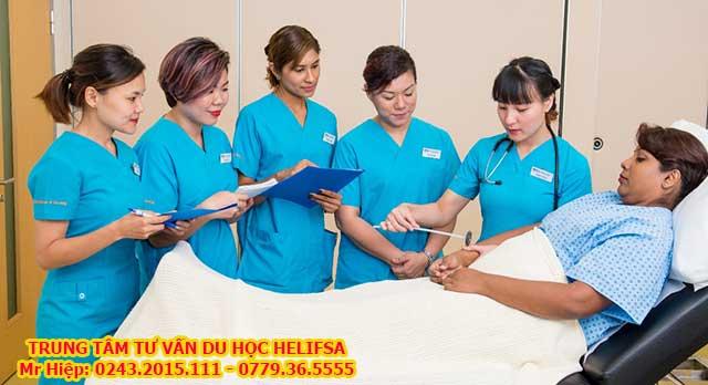 Du học nghề điều dưỡng tại Đức được miễn học phí