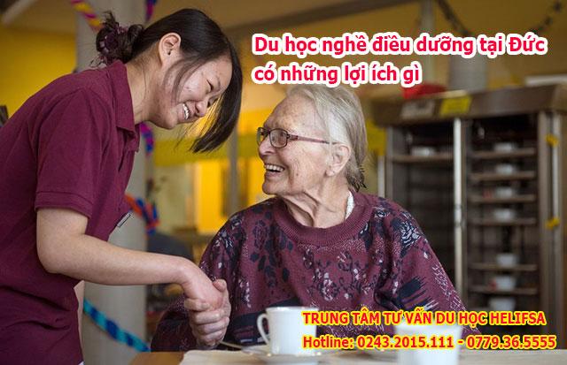 Du học nghề điều dưỡng tại Đức có những lợi ích gì