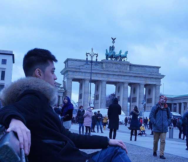Học viên Vương Shady tại Đức