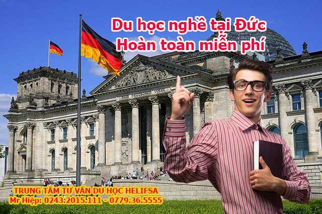 Du học nghề tại Đức hoàn thoàn được miễn học phí