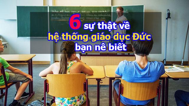 6 sự thật về hệ thống giáo dục Đức bạn cần biết