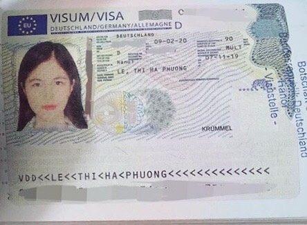 Một Visa đi du học nghề tại Đức của học viên